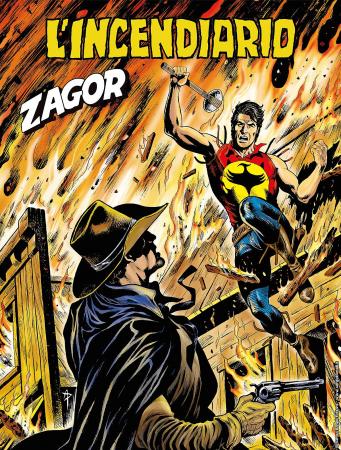 Zagor. L'incendiario
