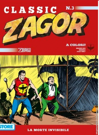 Zagor. La morte invisibile