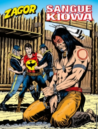 Zagor. Sangue Kiowa