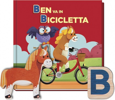 Ben va in bicicletta